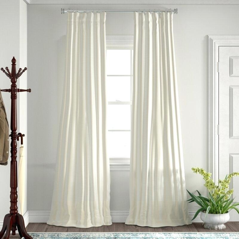 Textured Curtain Panels – Clwlighting (View 22 of 50)