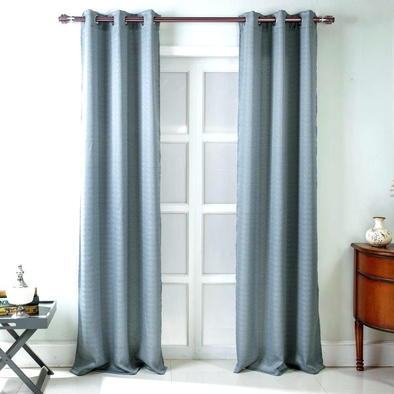 Textured Curtain Panels – Im Classic For Oxford Sateen Woven Blackout Grommet Top Curtain Panel Pairs (View 42 of 44)