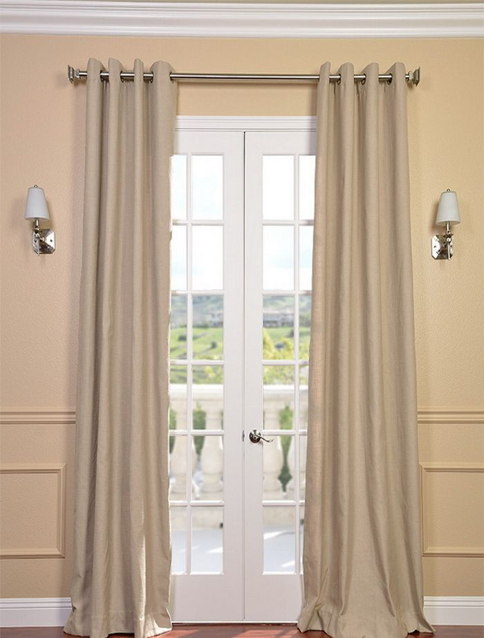 Textured Linen Drapes With Archaeo Slub Textured Linen Blend Grommet Top Curtains (View 31 of 37)