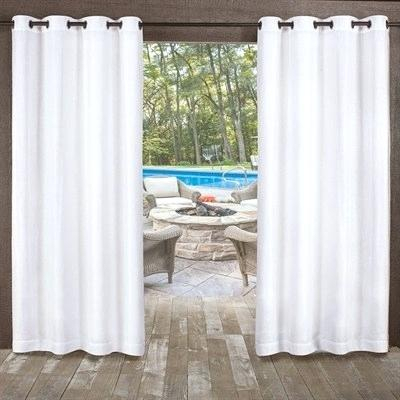 Textured Sheer Curtains – Hasanova In Tassels Applique Sheer Rod Pocket Top Curtain Panel Pairs (View 44 of 45)