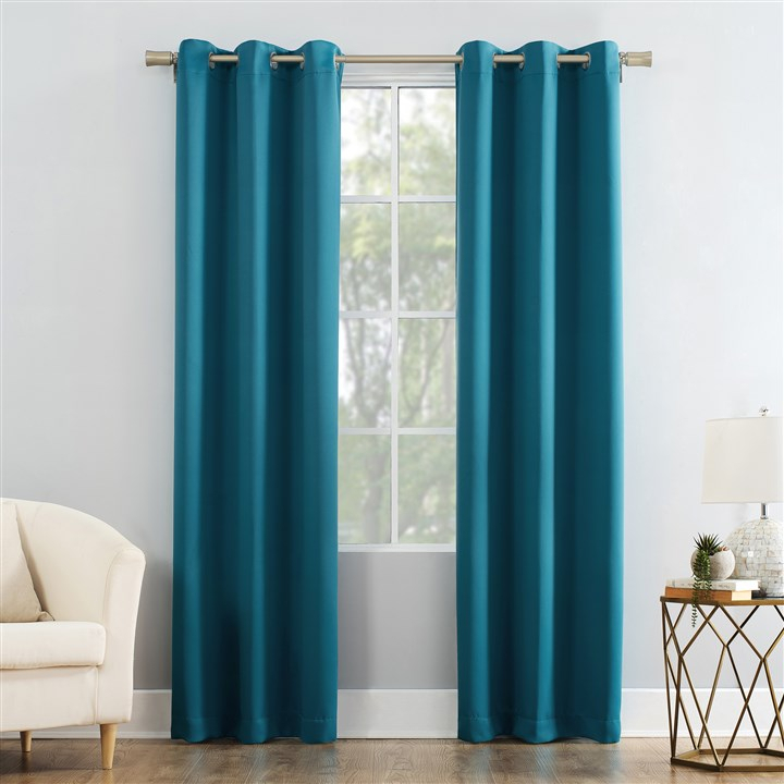 The 18 Best Blackout Curtains To Help You Sleep At The Night In Woven Blackout Curtain Panel Pairs With Grommet Top (#40 of 42)