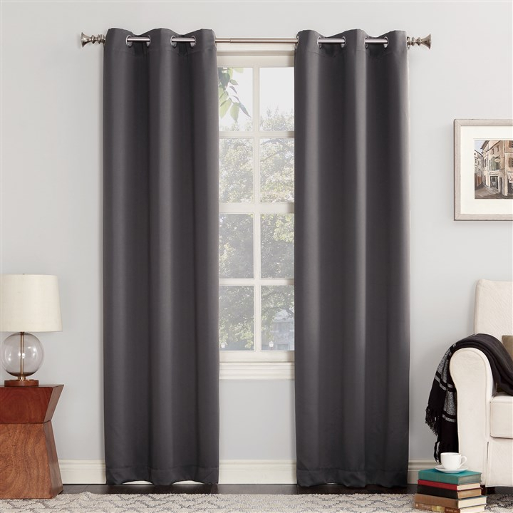 The 18 Best Blackout Curtains To Help You Sleep At The Night Within Ocean Striped Window Curtain Panel Pairs With Grommet Top (#38 of 41)