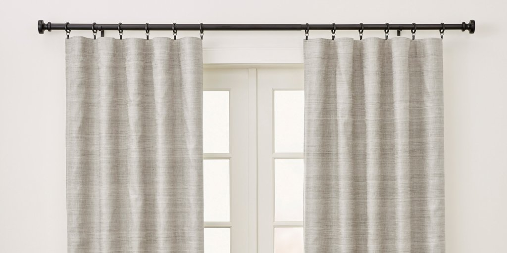 The Best Blackout Curtains For 2019: Reviewswirecutter In Solid Country Cotton Linen Weave Curtain Panels (#41 of 50)