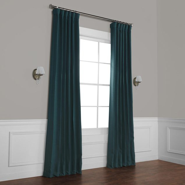 The Best Blackout Curtains For 2019: Reviewswirecutter Throughout Solid Country Cotton Linen Weave Curtain Panels (#42 of 50)
