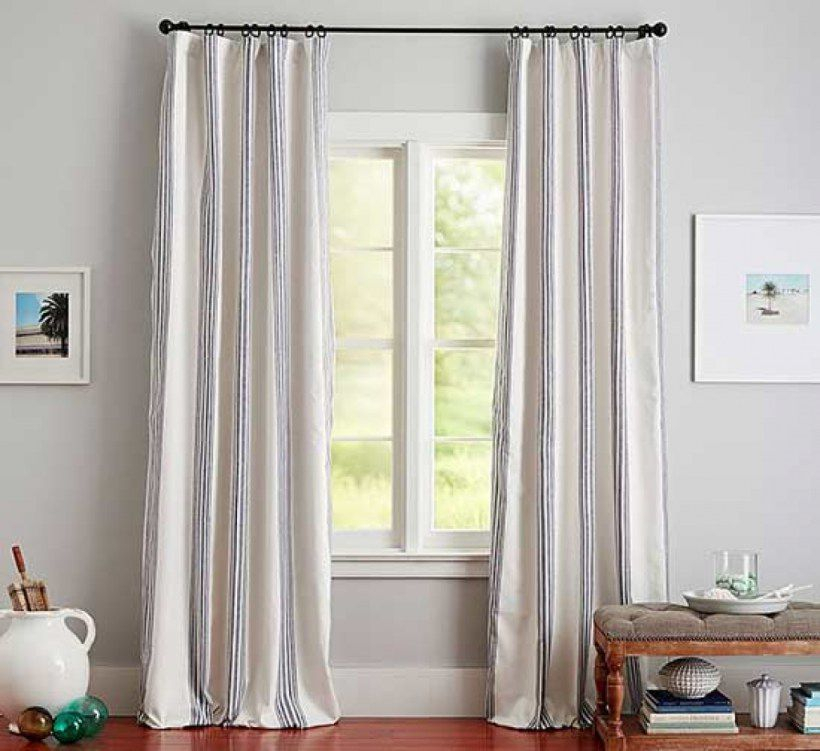 The Best Places To Buy Curtains In 2019 Pertaining To Linen Button Window Curtains Single Panel (#36 of 40)