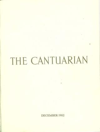 Inspiration about The Cantuarian December 1982 – August 1983Oks Within Ladonna Rod Pocket Solid Semi Sheer Window Curtain Panels (#32 of 47)