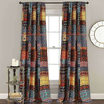 The Curated Nomad Ames Sateen Woven Blackout Grommet Top In The Curated Nomad Duane Jacquard Grommet Top Curtain Panel Pairs (#28 of 50)