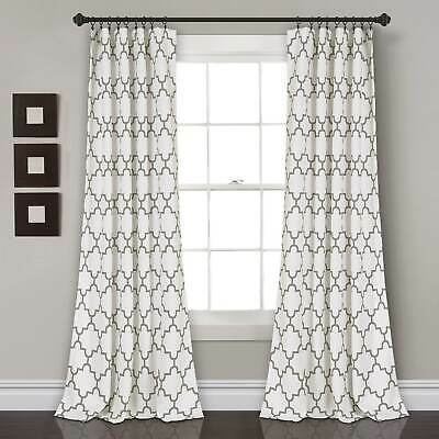The Curated Nomad Ames Sateen Woven Blackout Grommet Top Regarding The Curated Nomad Duane Jacquard Grommet Top Curtain Panel Pairs (#32 of 50)