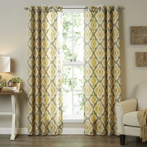 The Ink+Ivy Ankara Cotton Printed Panel Can Update Your In Ink Ivy Ankara Cotton Printed Single Curtain Panels (View 3 of 50)