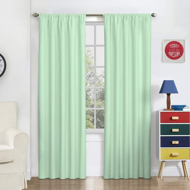 Thermaback Blackout 1 Panel Macklin Window Curtain Inside Thermaback Blackout Window Curtains (#34 of 36)