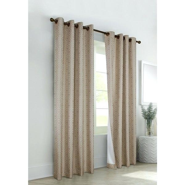 Thermaback Blackout Curtains – Acane For Eclipse Corinne Thermaback Curtain Panels (View 20 of 29)