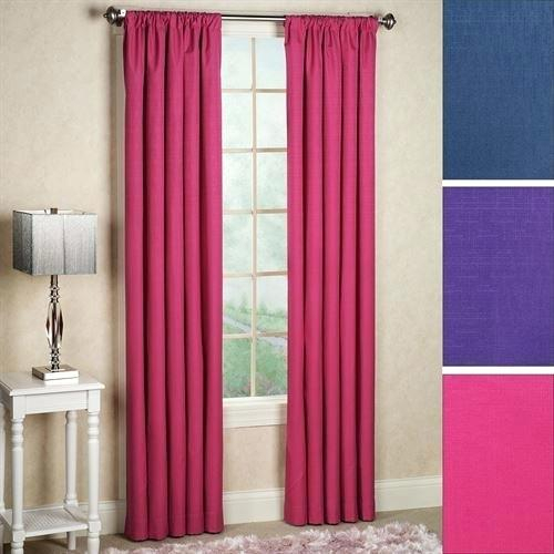 Thermaback Blackout Curtains – Acane For Eclipse Corinne Thermaback Curtain Panels (View 6 of 29)