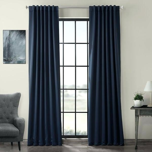 Thermal Blackout Curtains Solid Insulated Thermal Blackout Regarding Insulated Thermal Blackout Curtain Panel Pairs (#40 of 50)