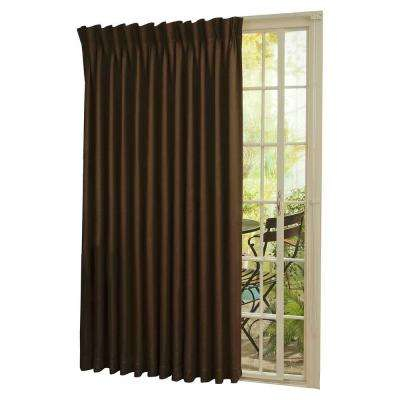 Thermal Blackout Patio Door Curtain Panel With Eclipse Newport Blackout Curtain Panels (View 37 of 41)