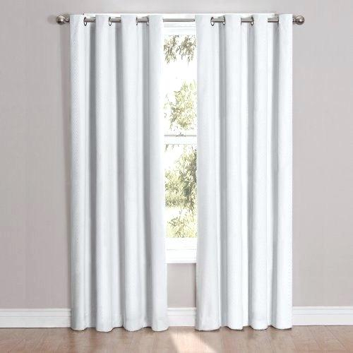 Thermal Curtain Panels – Maniadetox In Superior Leaves Insulated Thermal Blackout Grommet Curtain Panel Pairs (#42 of 50)