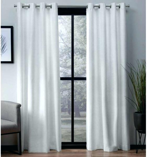 Thermal Drapes Regarding Thermal Textured Linen Grommet Top Curtain Panel Pairs (View 41 of 42)
