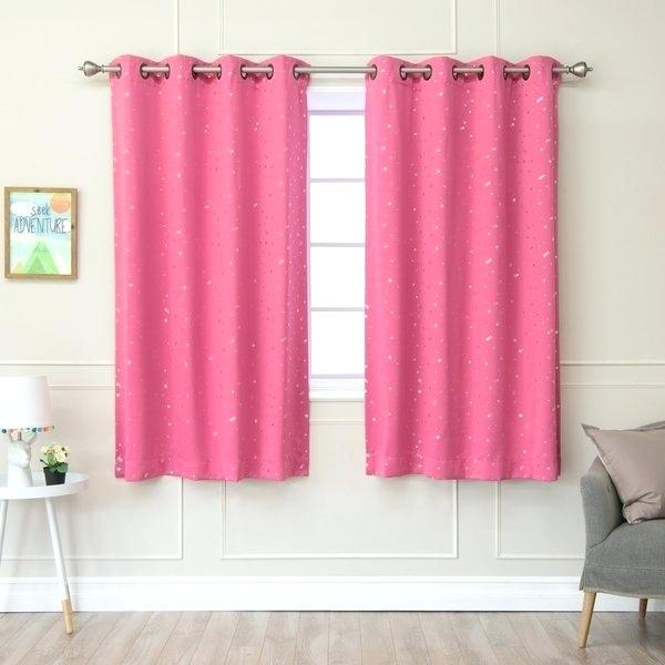 Thermal Insulated Blackout Curtains – Acane Inside Thermal Insulated Blackout Grommet Top Curtain Panel Pairs (#39 of 50)