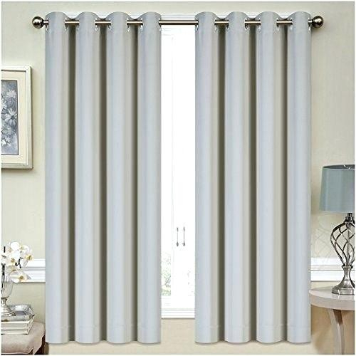 Thermal Insulated Blackout Curtains – Acane Regarding Superior Leaves Insulated Thermal Blackout Grommet Curtain Panel Pairs (#44 of 50)