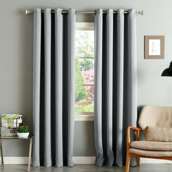 Thermal Insulated Curtains – Acane Inside Cooper Textured Thermal Insulated Grommet Curtain Panels (View 46 of 50)