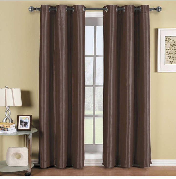 Thermal Insulated Curtains – Shopstyle In Cyrus Thermal Blackout Back Tab Curtain Panels (#26 of 39)