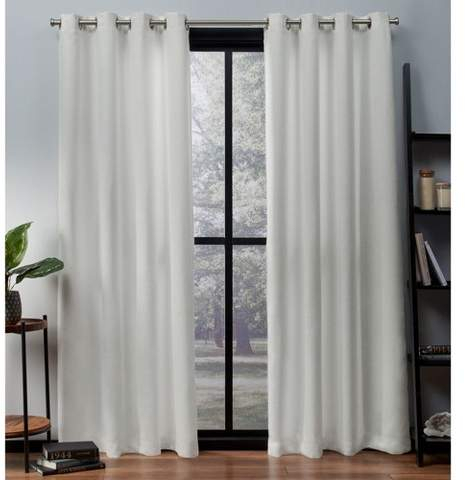 Thermal Insulated Curtains – Shopstyle In Geometric Print Textured Thermal Insulated Grommet Curtain Panels (View 40 of 45)