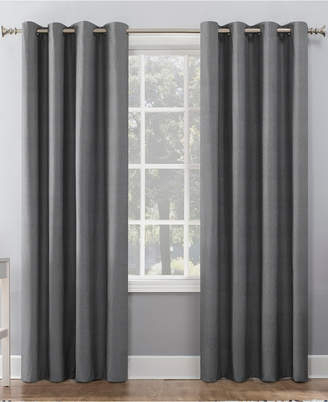 Thermal Insulated Curtains – Shopstyle Intended For Geometric Print Textured Thermal Insulated Grommet Curtain Panels (View 41 of 45)