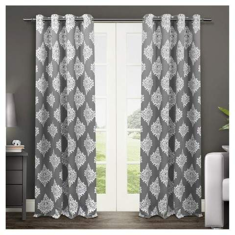 Thermal Insulated Curtains – Shopstyle Pertaining To Cyrus Thermal Blackout Back Tab Curtain Panels (#27 of 39)
