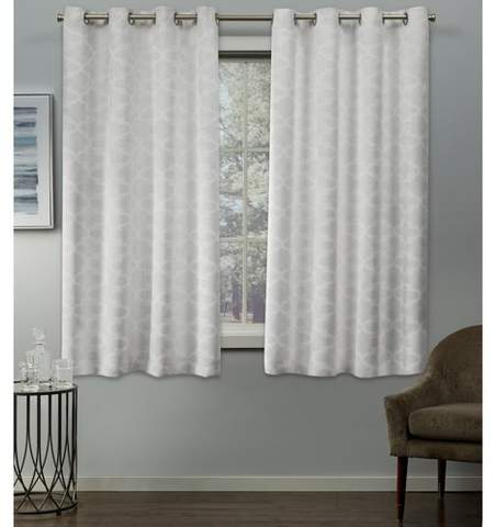 Thermal Insulated Curtains – Shopstyle Pertaining To Duran Thermal Insulated Blackout Grommet Curtain Panels (View 20 of 29)