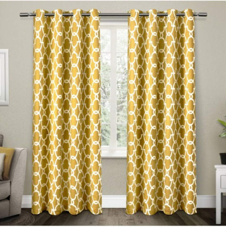 Thermal Insulated Curtains – Shopstyle With Regard To Cyrus Thermal Blackout Back Tab Curtain Panels (#32 of 39)