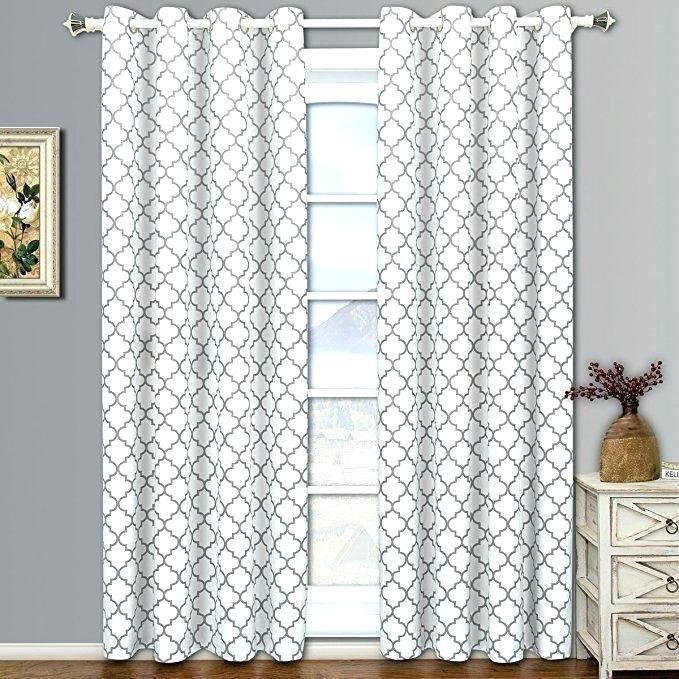 Thermal Sheer Curtains Inch Curtains Pair Of Two Top Grommet Throughout Thermal Insulated Blackout Grommet Top Curtain Panel Pairs (#44 of 50)