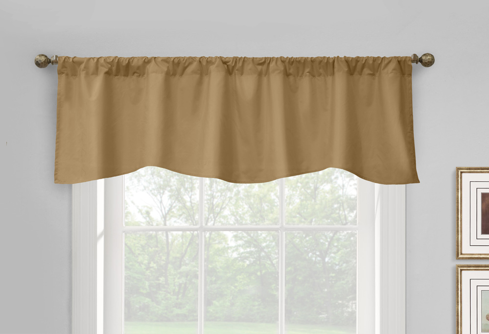 Thermal Window Valance Curtains – Insulated Valance Curtains For Prescott Insulated Tie Up Window Shade (View 3 of 45)