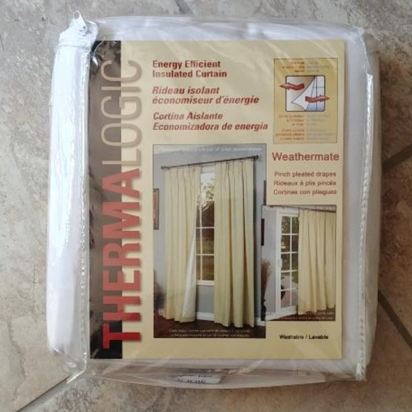Thermalogic Weathermate Insulated Curtains 72 X 84 Nwt Regarding Insulated Cotton Curtain Panel Pairs (#42 of 50)
