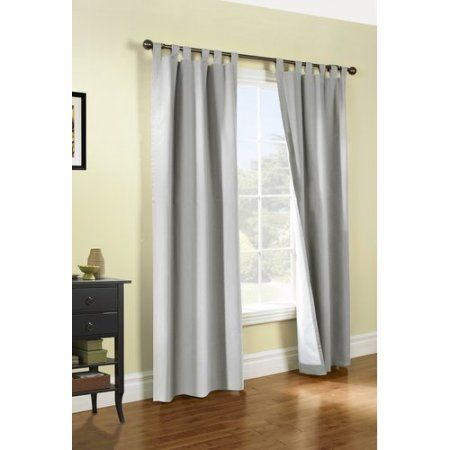 Thermalogic Weathermate Insulated Solid Color Tab Top For Cyrus Thermal Blackout Back Tab Curtain Panels (#35 of 39)