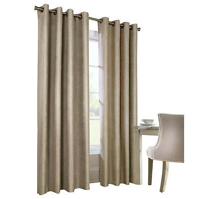 Thermaplus Navar Woven Blackout Faux Suede Grommet Top Panel Taupe  69556496569 | Ebay For Copper Grove Fulgence Faux Silk Grommet Top Panel Curtains (View 48 of 50)