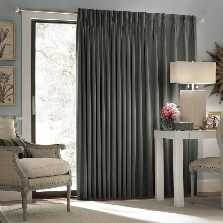 Thermaweave Blackout 1 Panel Patio Door Curtain Intended For Eclipse Newport Blackout Curtain Panels (View 38 of 41)