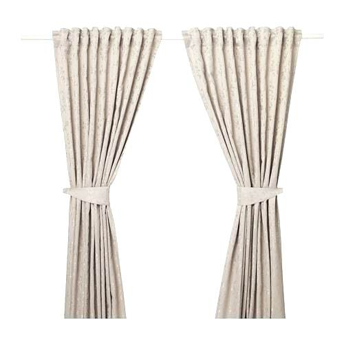 Tie Curtains In Knotted Tab Top Window Curtain Panel Pairs (#34 of 50)