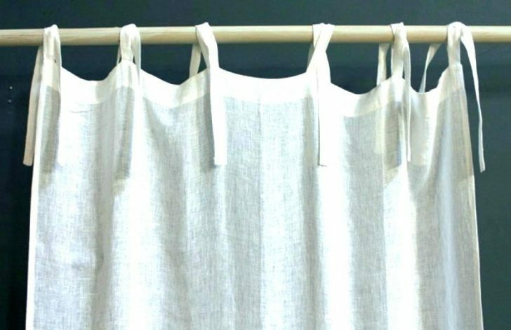 Tie Tab Curtains – Zincnight (#25 of 35)