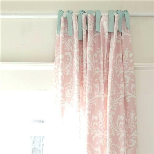 Tie Tab Curtains – Zincnight (#26 of 35)