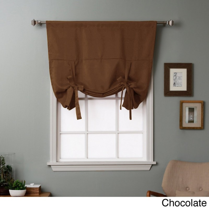 Tie Up Curtain – Curtain Decorating Ideas Inside Prescott Insulated Tie Up Window Shade (View 20 of 45)