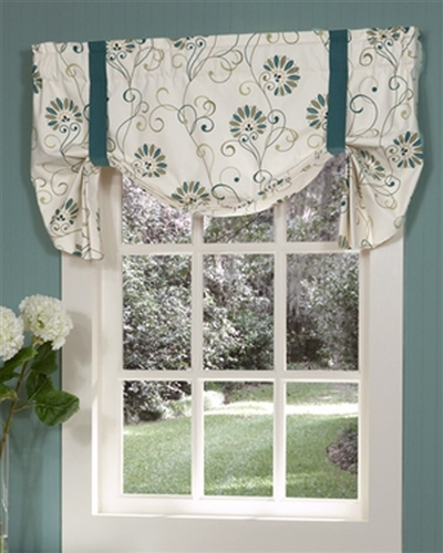 Tie Up Valances: Solid Colored, Patterned, Prints Inside Prescott Insulated Tie Up Window Shade (View 44 of 45)