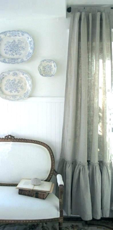 Tiered Ruffle Curtain Panel – Jburns (View 33 of 50)