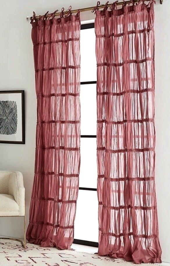 Tiered Ruffle Curtain Panel – Jburns (View 29 of 50)