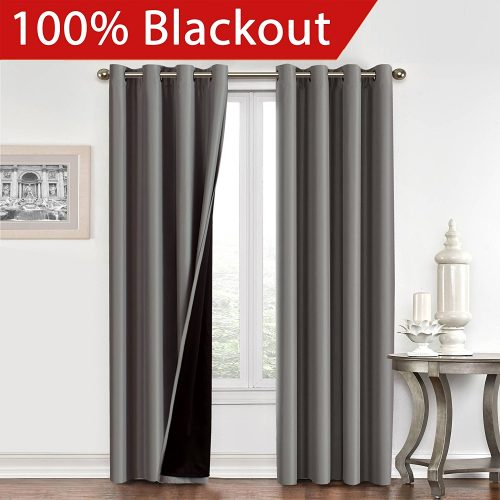 Top 10 Best 96 Inch Curtains In 2019 In Superior Leaves Insulated Thermal Blackout Grommet Curtain Panel Pairs (View 46 of 50)