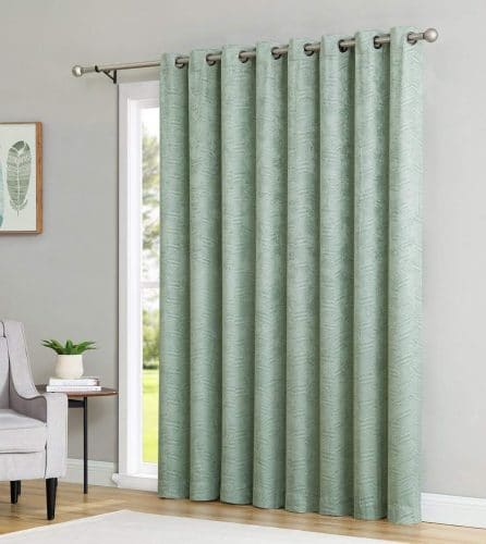 Top 10 Best Patio Door Curtains In 2019 Intended For Embossed Thermal Weaved Blackout Grommet Drapery Curtains (View 38 of 42)