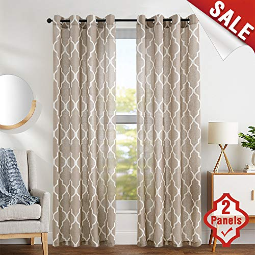 Top 10 Drapes For Living Room Of 2019 | No Place Called Home With Regard To Elegant Comfort Luxury Penelopie Jacquard Window Curtain Panel Pairs (View 48 of 50)