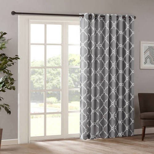 Top 22 Best Door Panel Curtains – Top Decor Tips In Fretwork Print Pattern Single Curtain Panels (View 22 of 46)