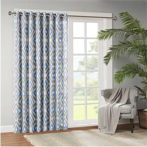 Top 23 Best Sliding Door Curtains – Top Decor Tips Throughout Fretwork Print Pattern Single Curtain Panels (View 43 of 46)