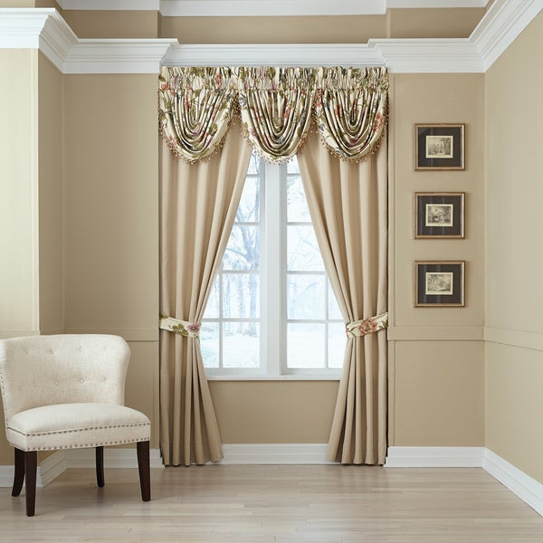 Top Curtain Panel | Best Home Decorating Ideas Inside Wilshire Burnout Grommet Top Curtain Panel Pairs (#42 of 45)