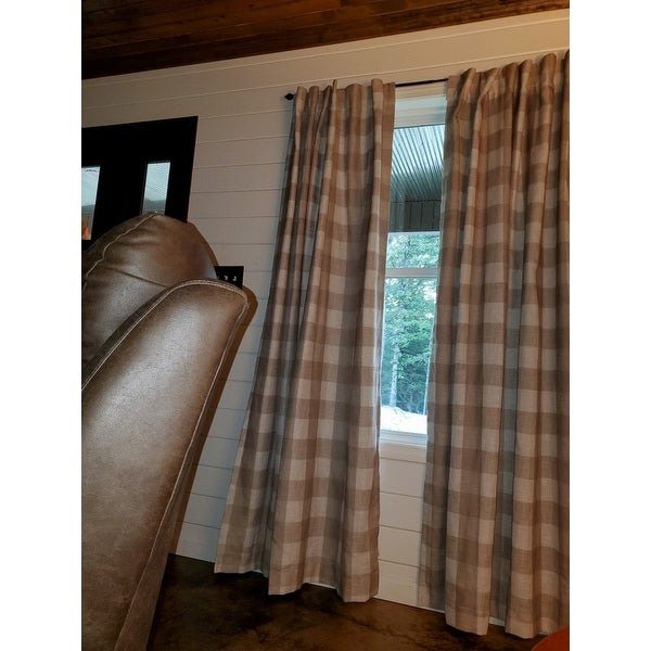Top Product Reviews For Grainger Buffalo Check Blackout Within Grainger Buffalo Check Blackout Window Curtains (View 40 of 50)