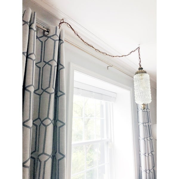 Top Product Reviews For Kaiden Geometric Room Darkening Within Kaiden Geometric Room Darkening Window Curtains (#39 of 39)